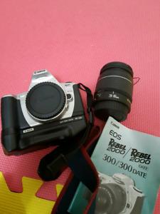 Canon Rebel 2000 Film DSLR Kit