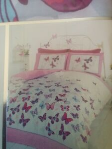 Single Duvet Cover (Pink & White) - brand NEW West Island Greater Montréal image 1