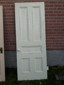Old Doors for Downtown Napanee Century Building