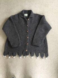 Pachamama 100% Wool Cardigan
