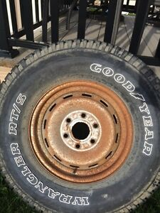 256/75R16 Spare tire 6 bolt pattern