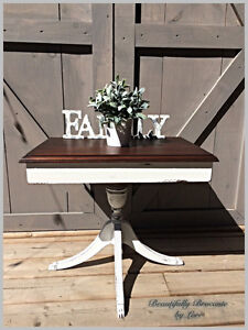 Antique Farmhouse Style Side Table