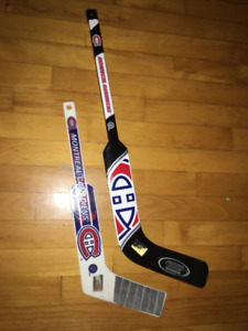 HOCKEY MINI and ROAD HOCKEY GOALIE STICKS.