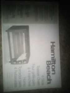 Hamilton Beach Convection Toaster Oven Black/Stainless Steel