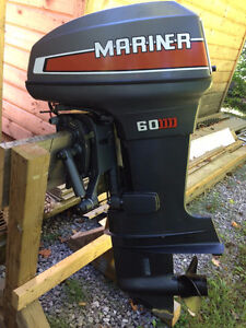 Mariner 60hp Outboard Motor - For parts or repair