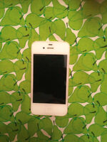 White IPhone 4S Good Condition