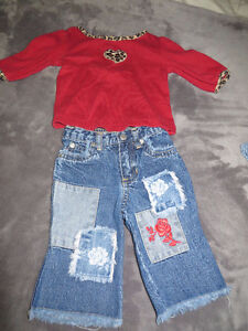girls size 3-6 months 31 pieces of clothing page one Stratford Kitchener Area image 2