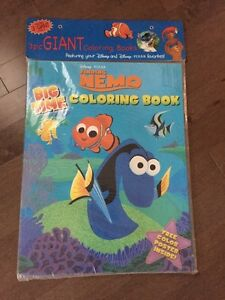 GIANT Disney COLORING BOOK~3 of them