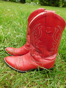 Cowboy boots (about size 1)