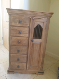 Wooden chest cupboard drawers furniture