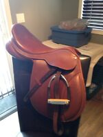 2009 Collegiate Convertable English Saddle