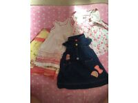 Beautiful summer dresses x4. 6-9mth baby girl bundle.