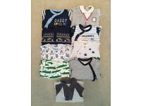 3-6 baby boys sleepsuits/rompers