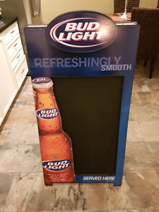Bud Light Sandwich Board/Beer Sign