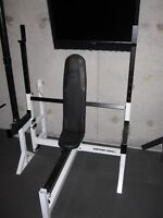 Olympic Decline Incline FlaT Bench gym weights exercise