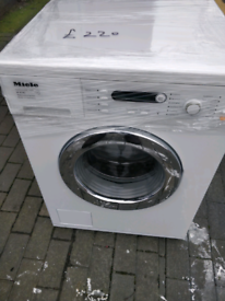 MIELE 7KG WASHING MACHINE LATEST MODEL WITH DELIVERY AND WARRANTY