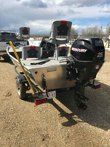 For Sale 16' Fishing Boat & Trailer