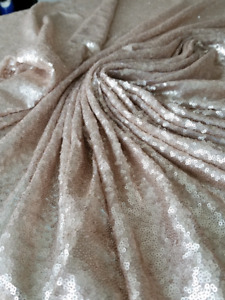 Rose gold sequin backdrop/tablecloth
