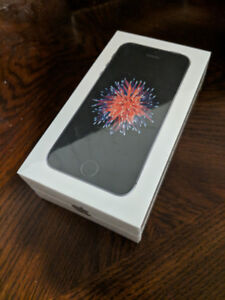 Factory Sealed iPhone SE - Space Gray (32GB)