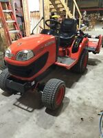 2008 Kubota BX2350 - Garden Tractor - Only 59 hours