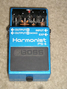 EFFECTS PEDAL - Boss PS-6 Harmonist