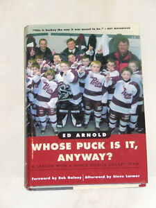 Whose Puck Is It, Anyway? -- Must reading for hockey parents