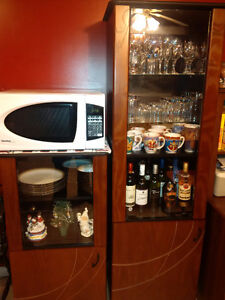lighted display cabinet / pantry