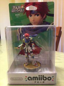 Nintendo 3DS/Wii U Roy Amiibo Japanese Version