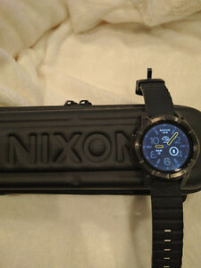 MINT - Nixon The Mission Smart Watch - All Black - Android Wear Stratford Kitchener Area image 4