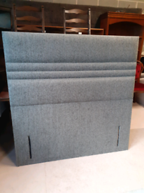 🤩🤩Brand New Grey Fabric Floor Standing Headboard 🤩🤩