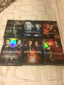 Supernatural - 6 seasons 15$ / season