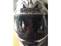 Shark RSI shuriken motorbike Helmet SIZE S
