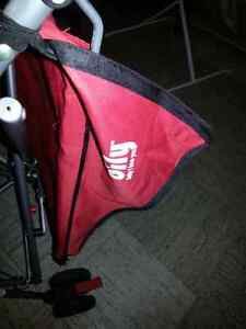 Bily red umbrella stroller Prince George British Columbia image 2