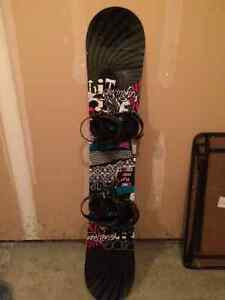 Women's board boots bindings
