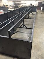 Custom welded cattle supplies