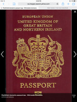 LOST - BRITISH PASSPORT