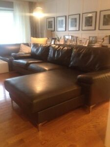Charcoal grey Ashley Sectional