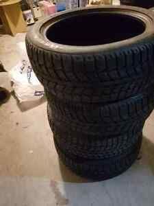 Winter Tires Uniroyal Ice and Snow II 205/50/17