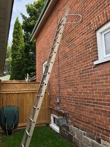 14 Foot Aluminum Ladder with Stand Off Arms Cobourg