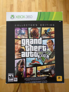 REDUCED! Selling GTA V Xbox 360 Collectors Edition!