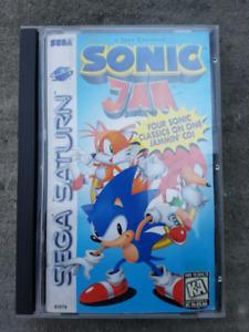 Sonic jam for the sega saturn