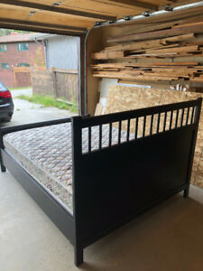 Ikea Bed with Mattress and Boxspring