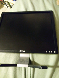 "19"" Dell Monitor (Desktop Computer Screen)"
