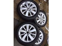 Alloy wheels 16 inch VW Golf mk6 Seat skoda audi