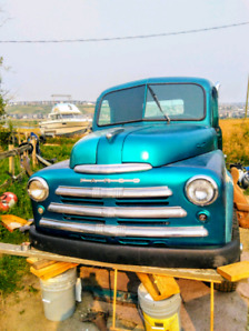 Antique truck for