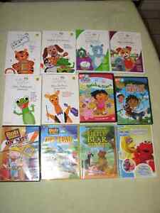 CHILDREN'S DVD'S $3 EACH