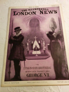 FUNERAL EDITION OF KING GEORGE VI