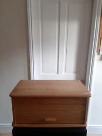 Wooden Bread Bin Storage