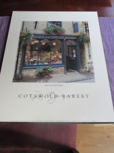 Great Kitchen Print  - Cotswold Bakery  16 x 20""