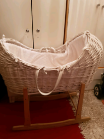 Baby moses basket brand new